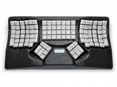 Maltron, Original, Ergonomic Two-Handed Keyboard Black USB