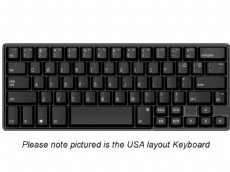 UK Matias 60% Quiet Click PC Keyboard