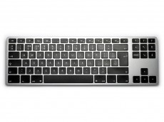 UK Matias Bluetooth Aluminum Tenkeyless Keyboard for Mac Space Grey