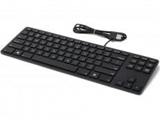 USA Matias Wired Aluminum Tenkeyless RGB Backlit Keyboard for PC Black