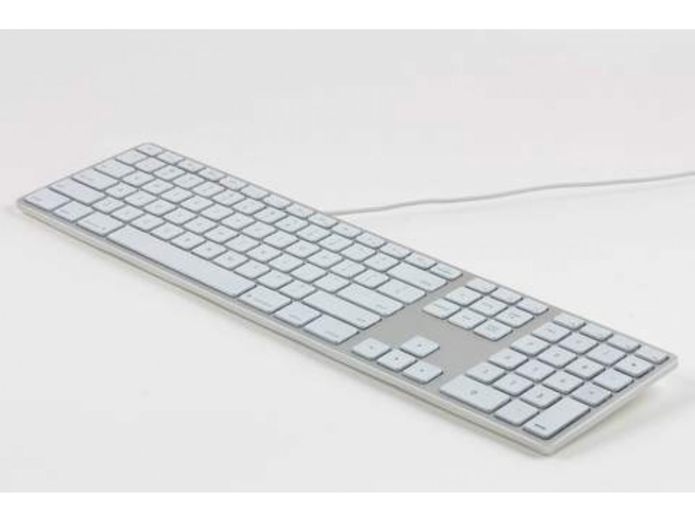 USA Matias Wired Backlit Aluminum Keyboard for Mac Space Grey