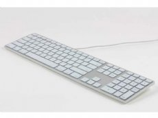 USA Matias Wired Backlit Aluminum Keyboard for Mac Silver
