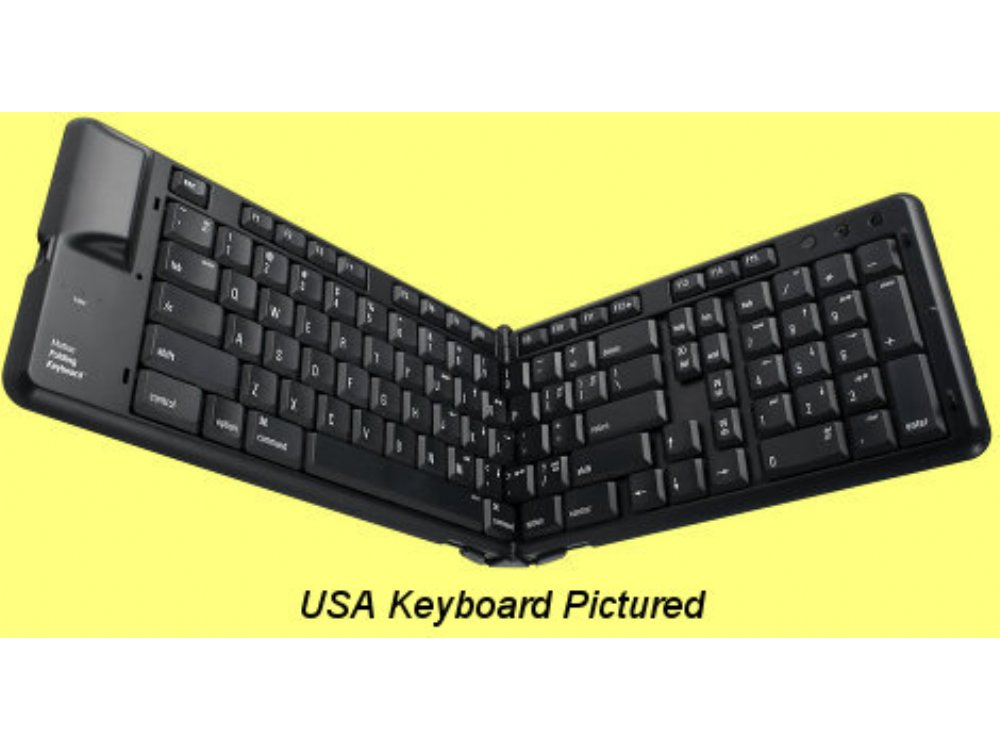 Matias Bluetooth Folding French Keyboard for iPad and iPhone