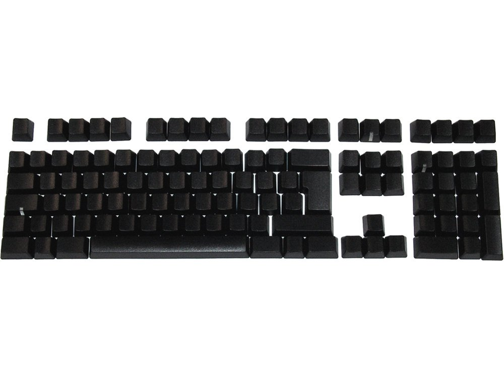 Matias Keyset Blank Black PC