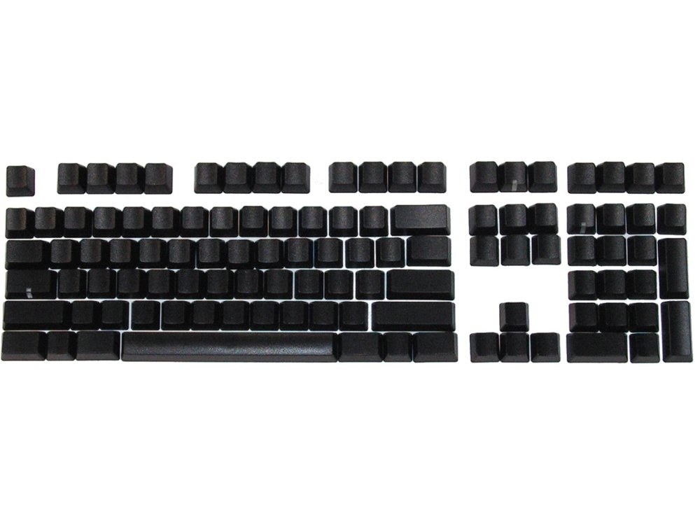 Matias Keyset Blank Black PC