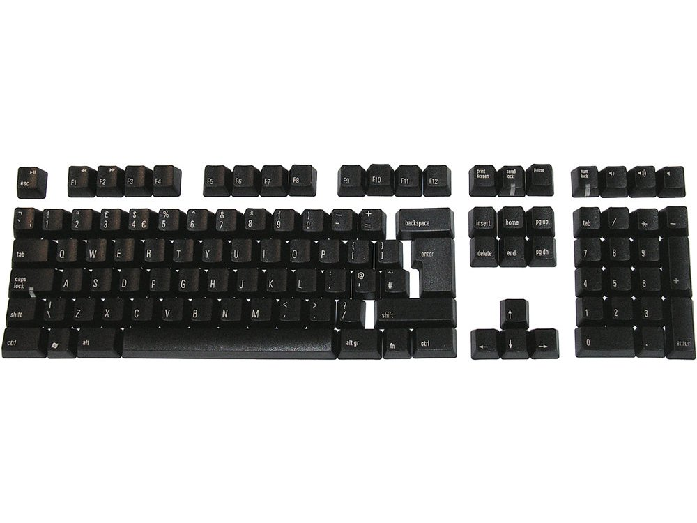 Matias Keyset UK Black PC Full for Matias European Keyboards
