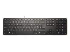 UK Matias Wired RGB Backlit Aluminum Keyboard for PC Black
