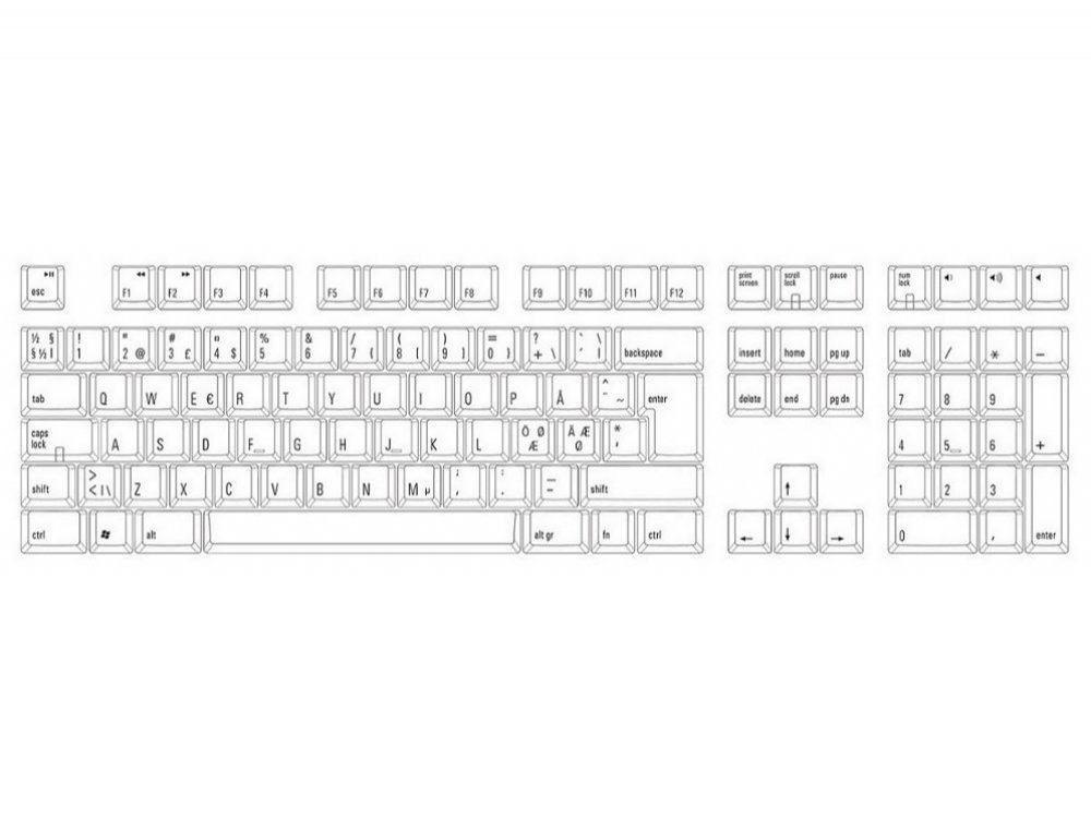 Nordic Matias Tactile Pro for PC