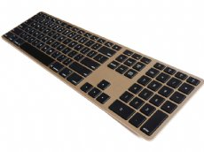 USA Matias Bluetooth Aluminum Keyboard Gold