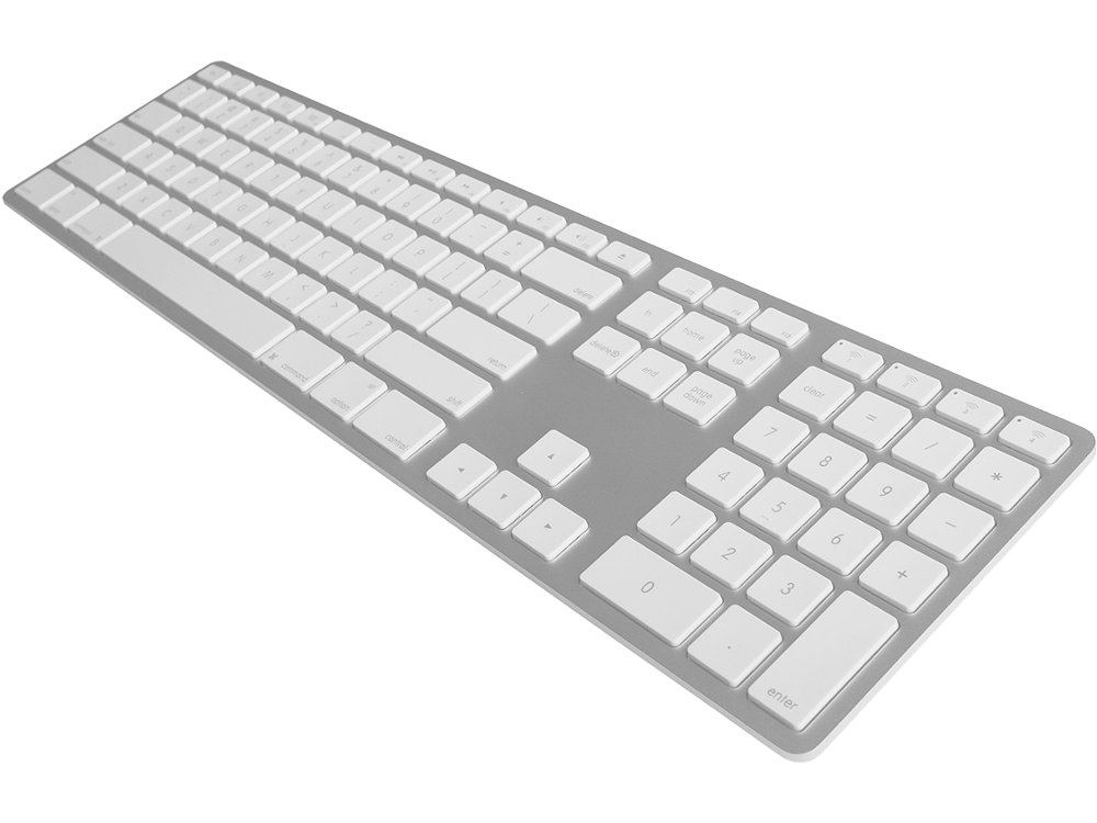 USA Matias Bluetooth Aluminum Keyboard Silver, picture 1