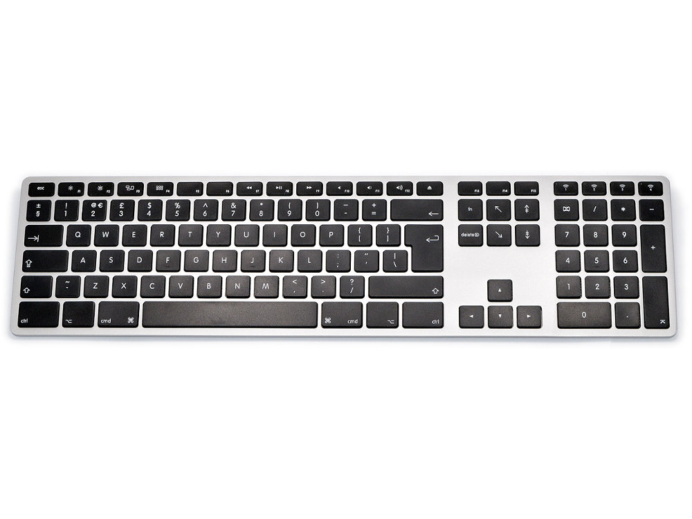 UK Matias Bluetooth Aluminum Keyboard Space Gray, picture 2