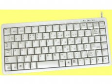 CHERRY Mini Keyboard Beige PS/2 and USB