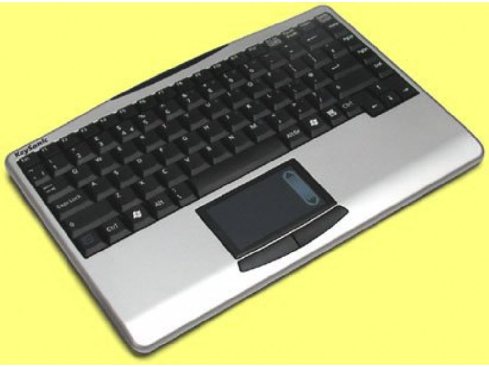 mini wireless keyboard with built in touchpad kbc 1540tprf the keyboard company. Black Bedroom Furniture Sets. Home Design Ideas
