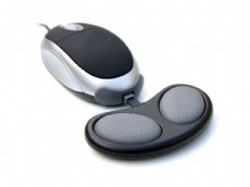 Mousebean Ergonomic Hand Rest, Black