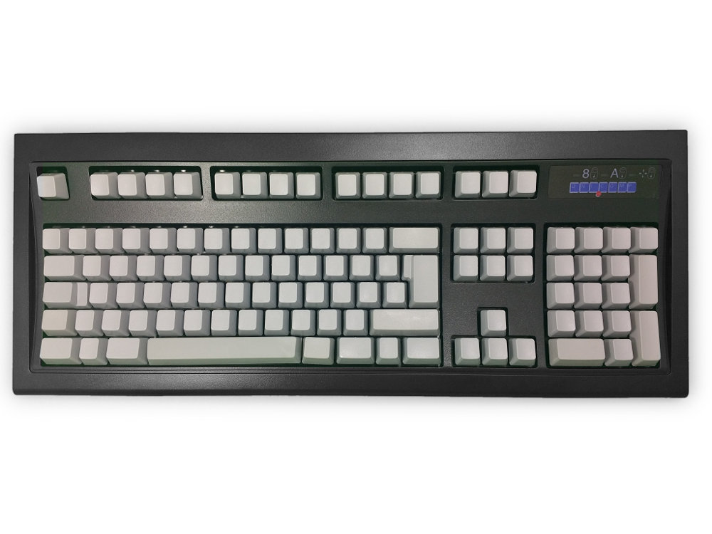 Blank New Model M Keyboard Black Gray