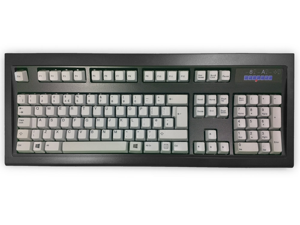 UK New Model M Keyboard Black Gray