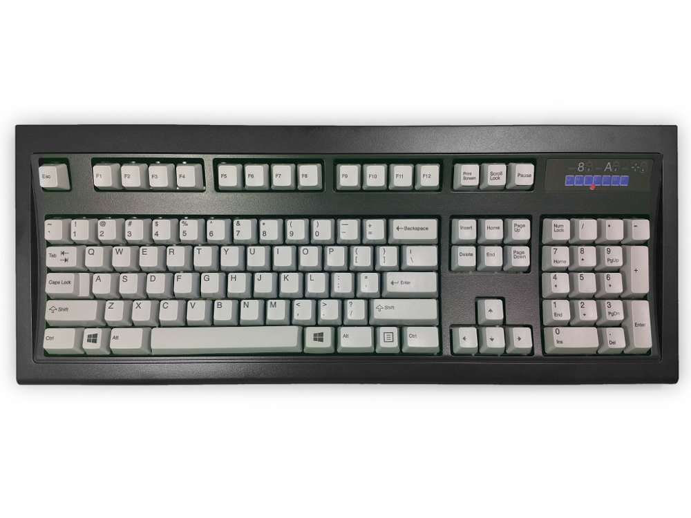 USA New Model M Keyboard Black Gray, picture 1