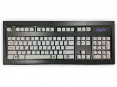 USA New Model M Keyboard Black Gray