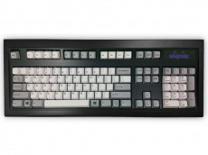 USA New Model M Keyboard Black White/Gray
