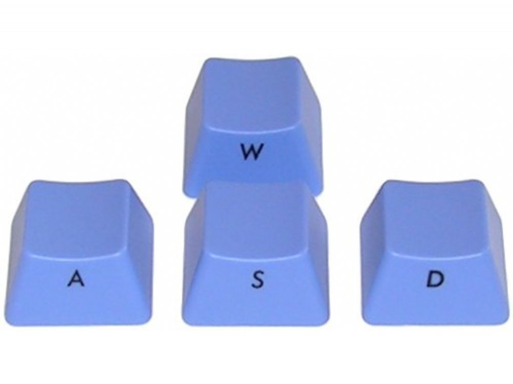 Filco Blue Ninja WASD Keys for Cherry MX Switches