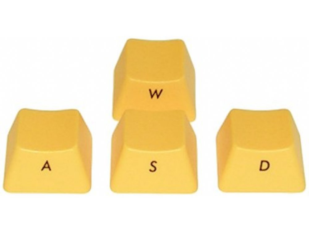 Filco Yellow Ninja WASD Keys for Cherry MX Switches