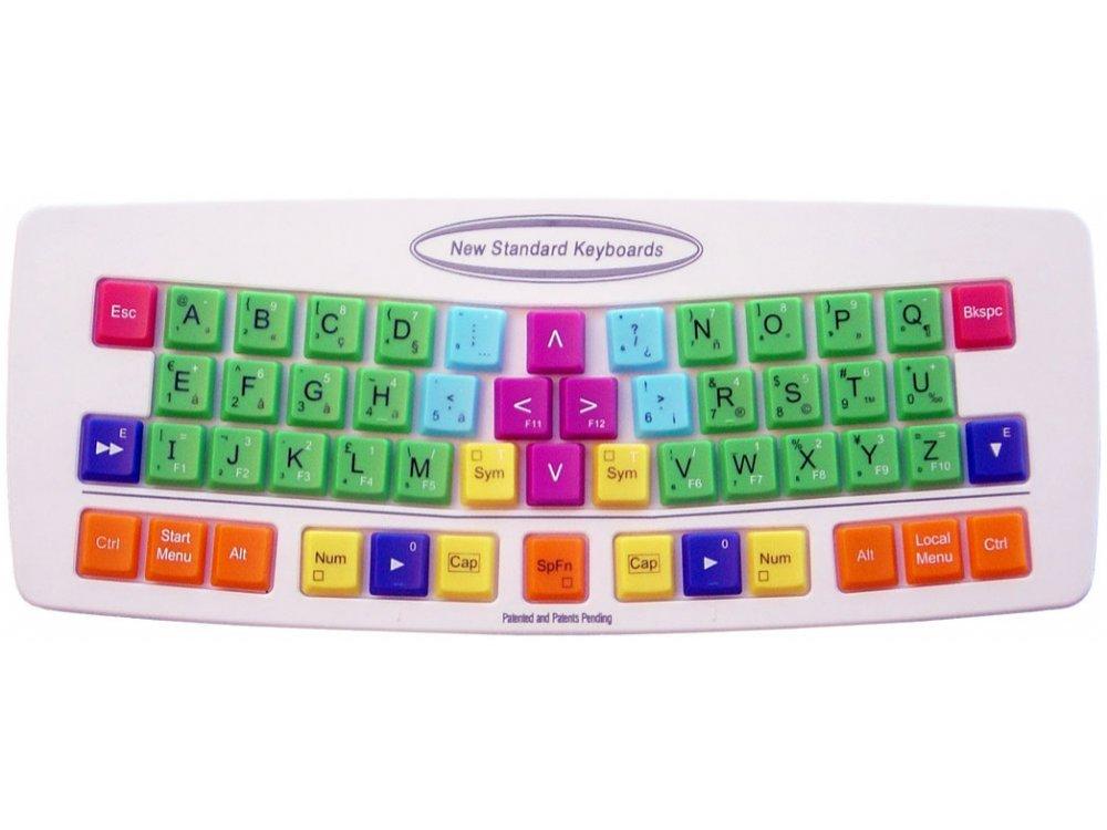 NSK 535R, New Standard Keyboard