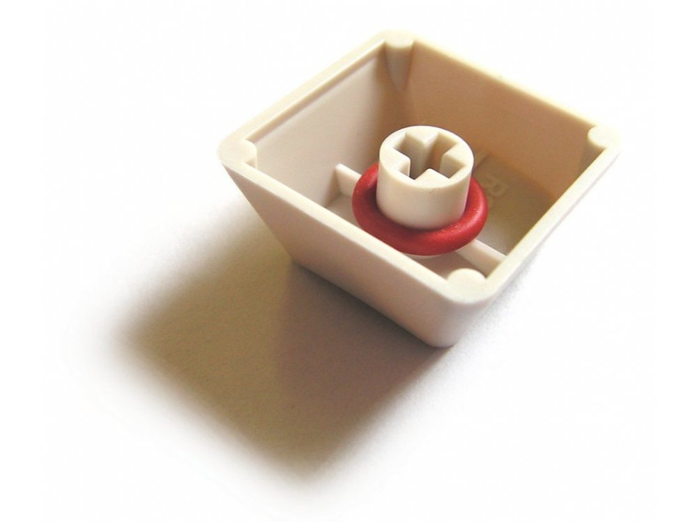Red O-Ring Switch Dampeners For Filco Keyboards