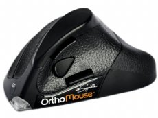 OrthoMouse Orthopaedic Ergonomic and Adjustable Wireless Laser Mouse
