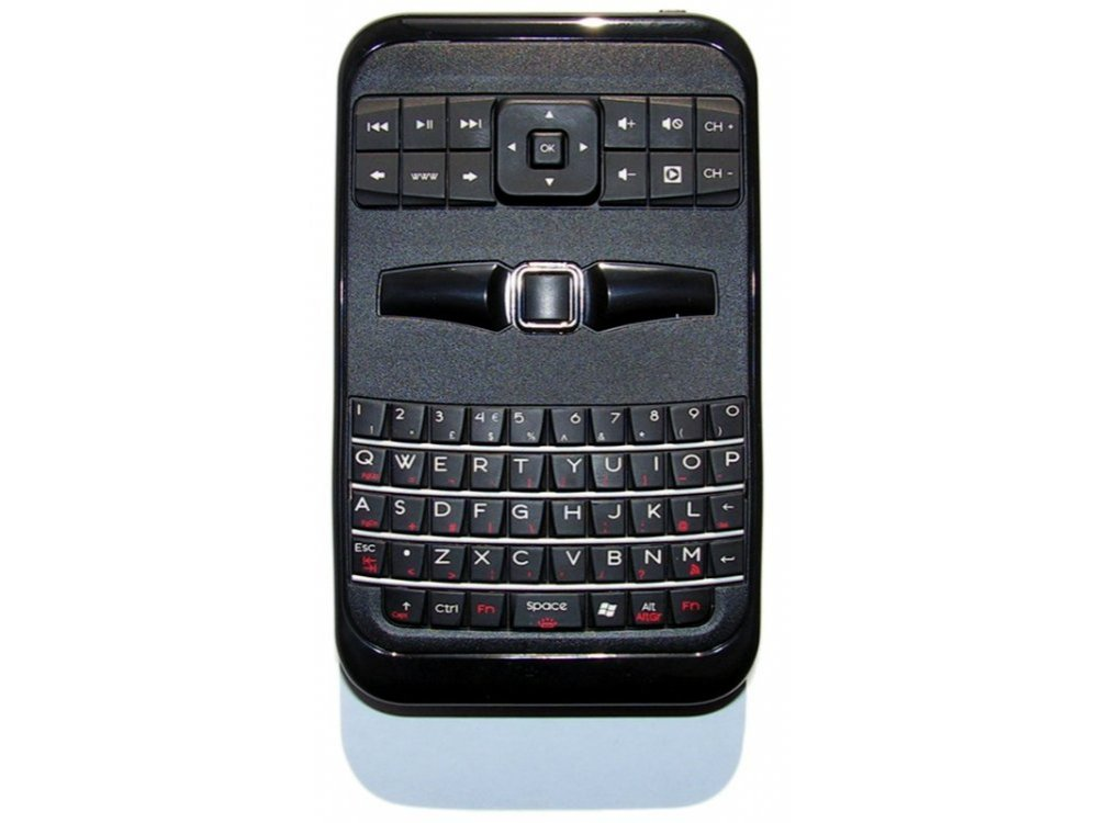 Palm Sized Wireless Remote, Wii Style Mouse and Keyboard