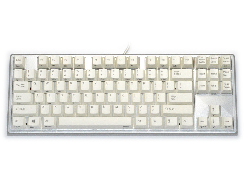 Plum 87 Capacitive Water-Resistant RGB Backlit Programmable Keyboard