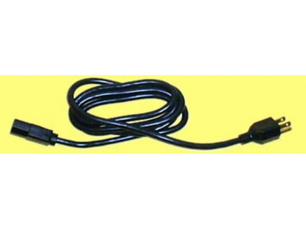Power cable, IEC to standard US plug, picture 1