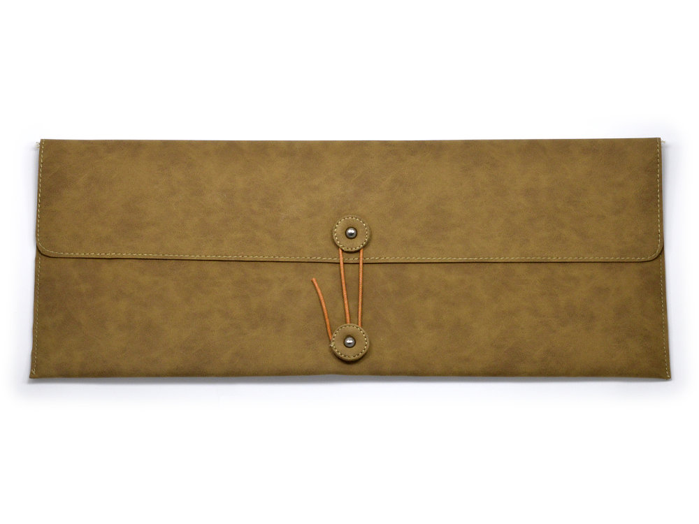 Keyboard Bag Suede Effect, Extra Large