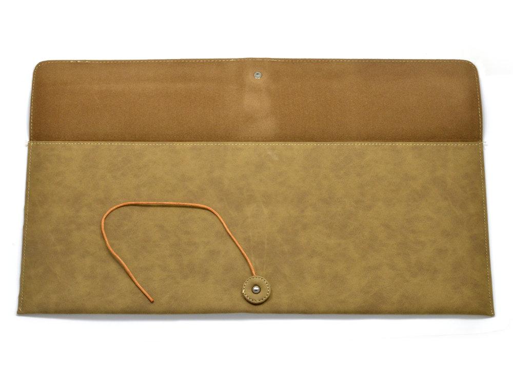 Keyboard Bag Suede Effect, Extra Large