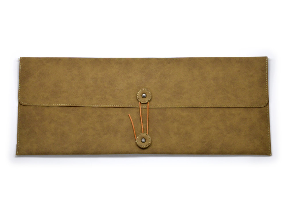 Keyboard Bag Suede Effect, Large