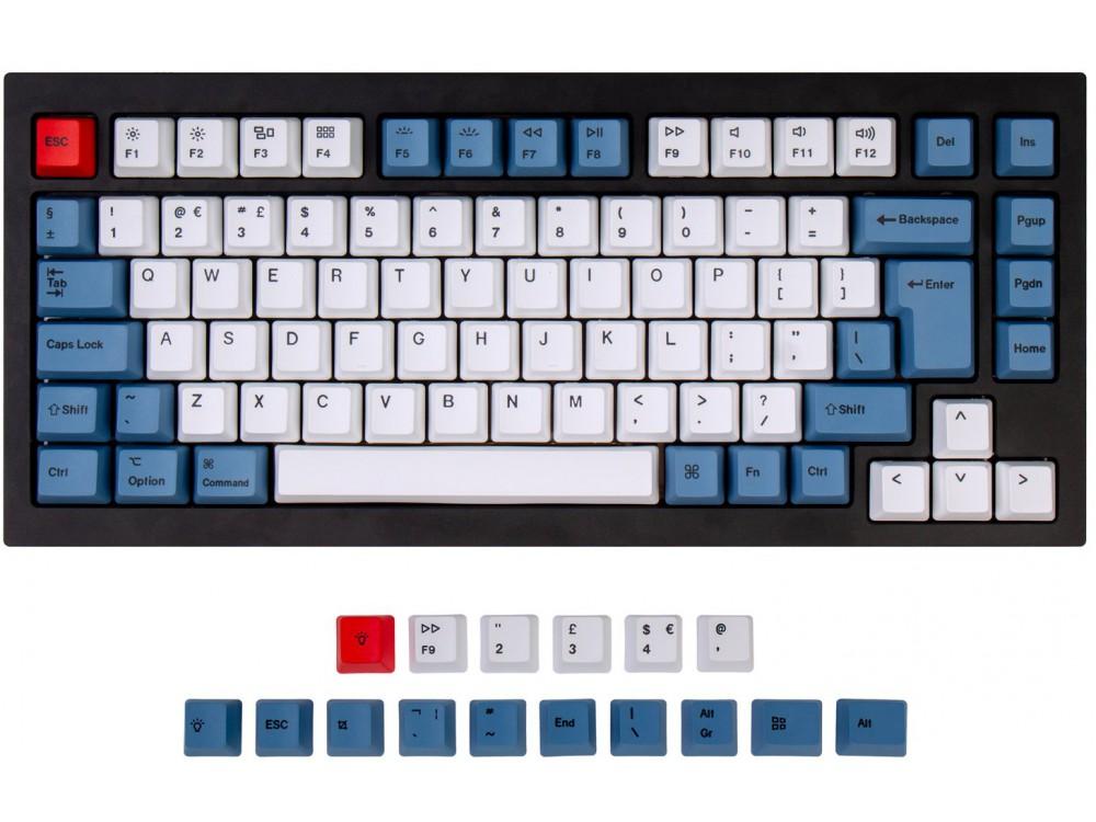 UK Keychron Q1 & K2 OEM Dye-Sub PBT Keycap Set Blue