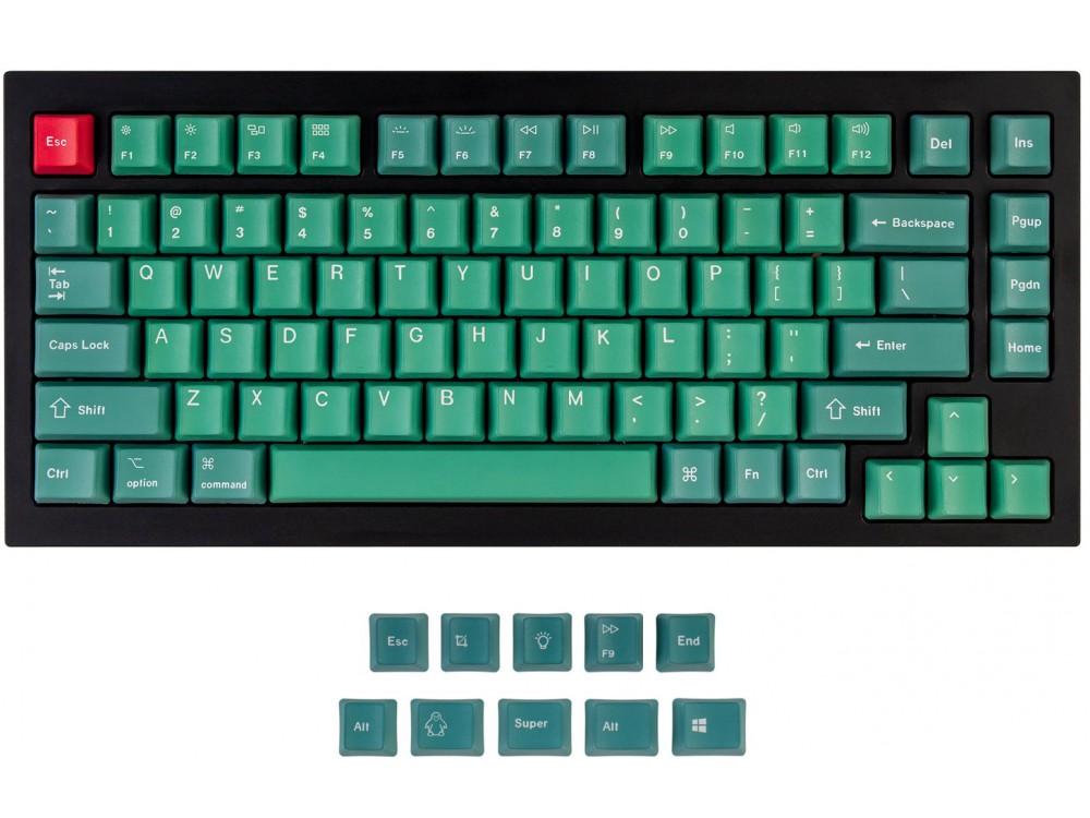 USA Keychron Q1 & K2 OEM Dye-Sub PBT Keycap Set Forest