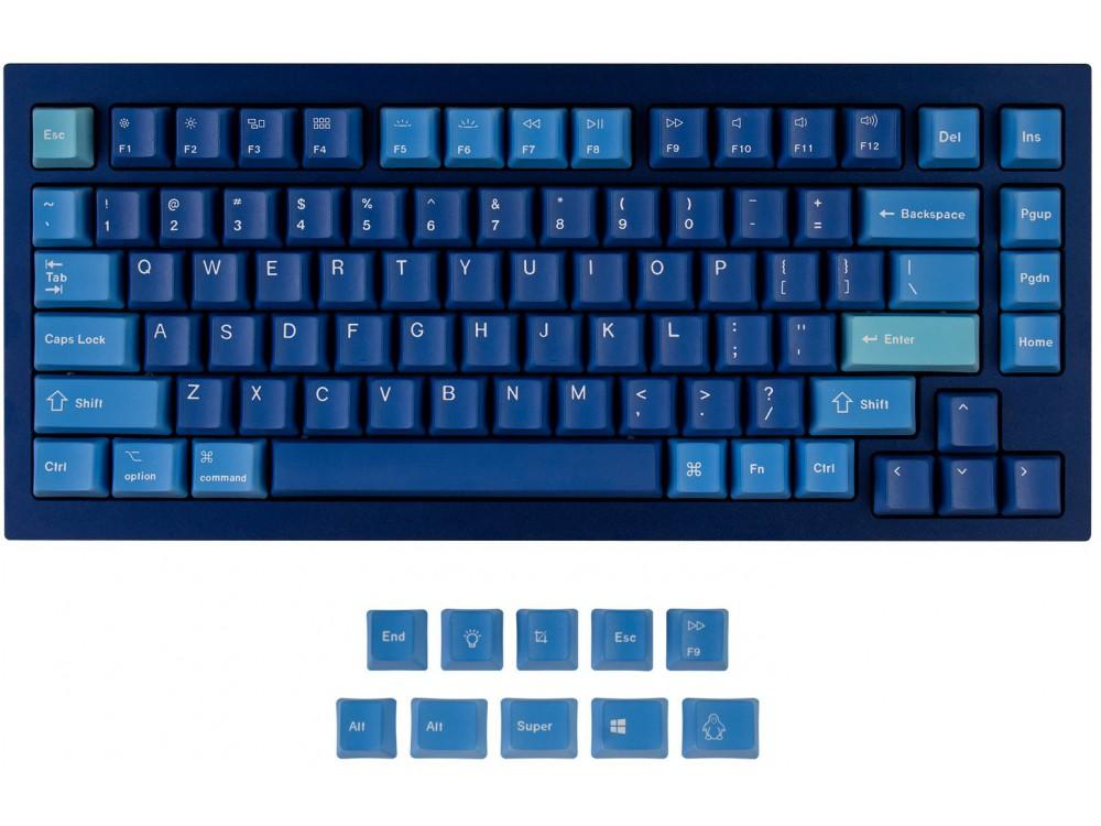 USA Keychron Q1 & K2 OEM Dye-Sub PBT Keycap Set Ocean