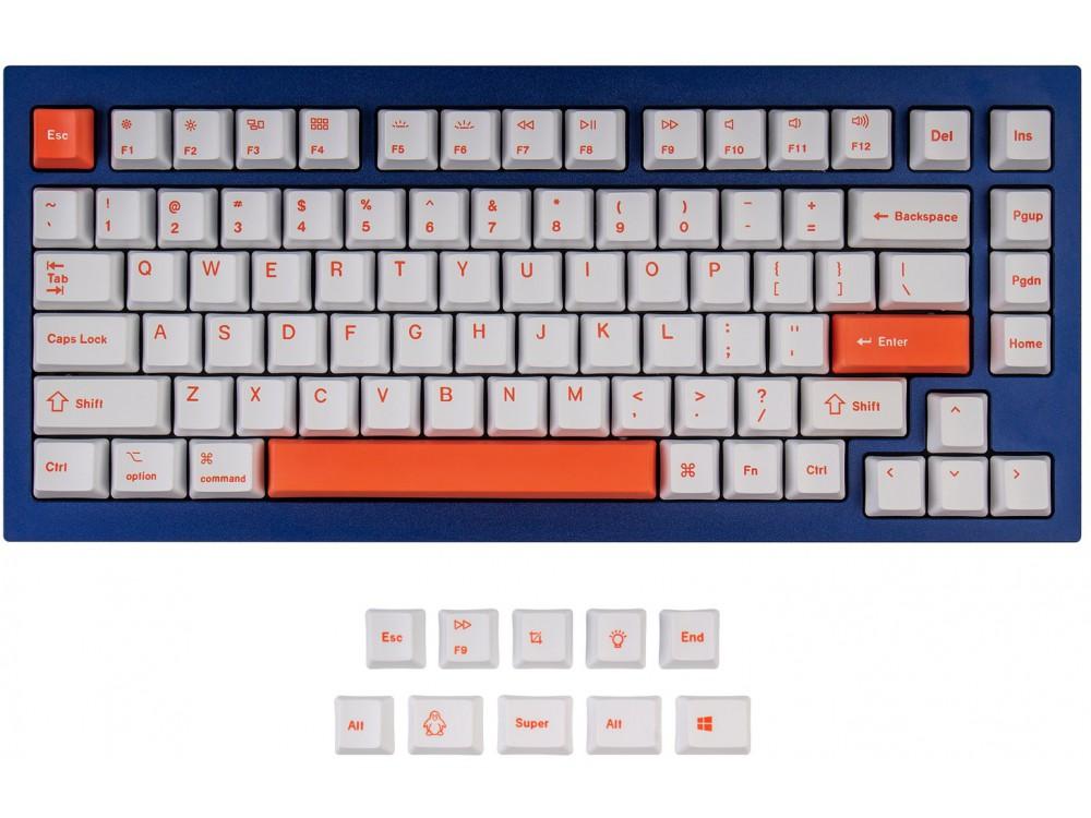 USA Keychron Q1 & K2 OEM Dye-Sub PBT Keycap Set Orange