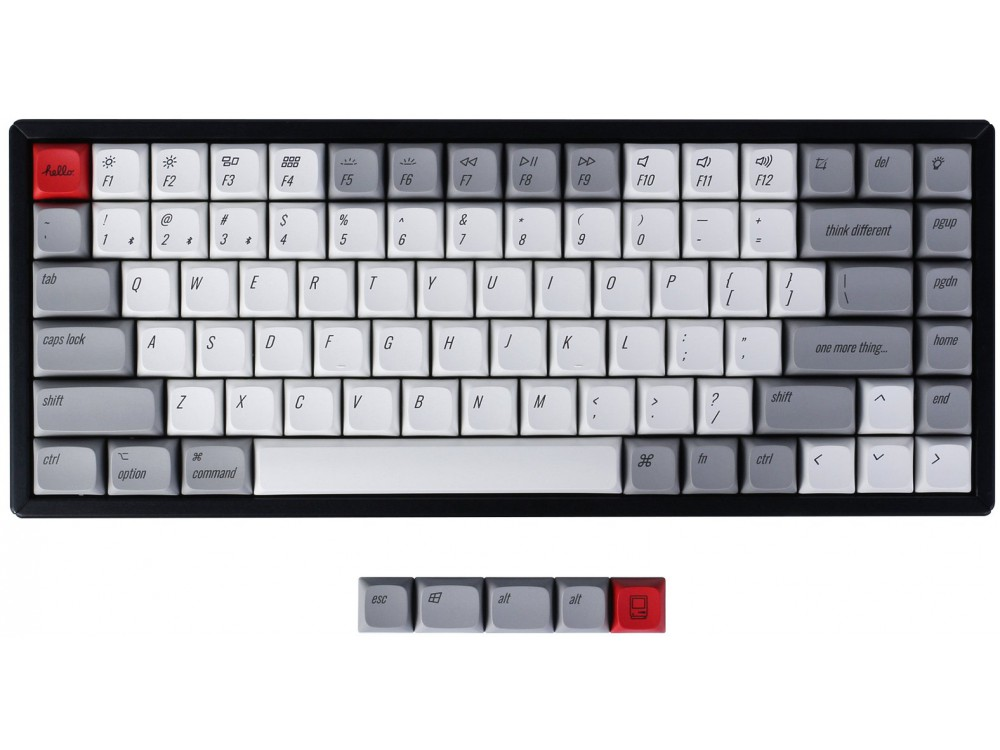 USA Keychron Q1 & K2 XDA Dye-Sub PBT Keycap Set Retro