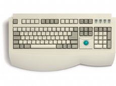 Trackball keyboard, PS/2
