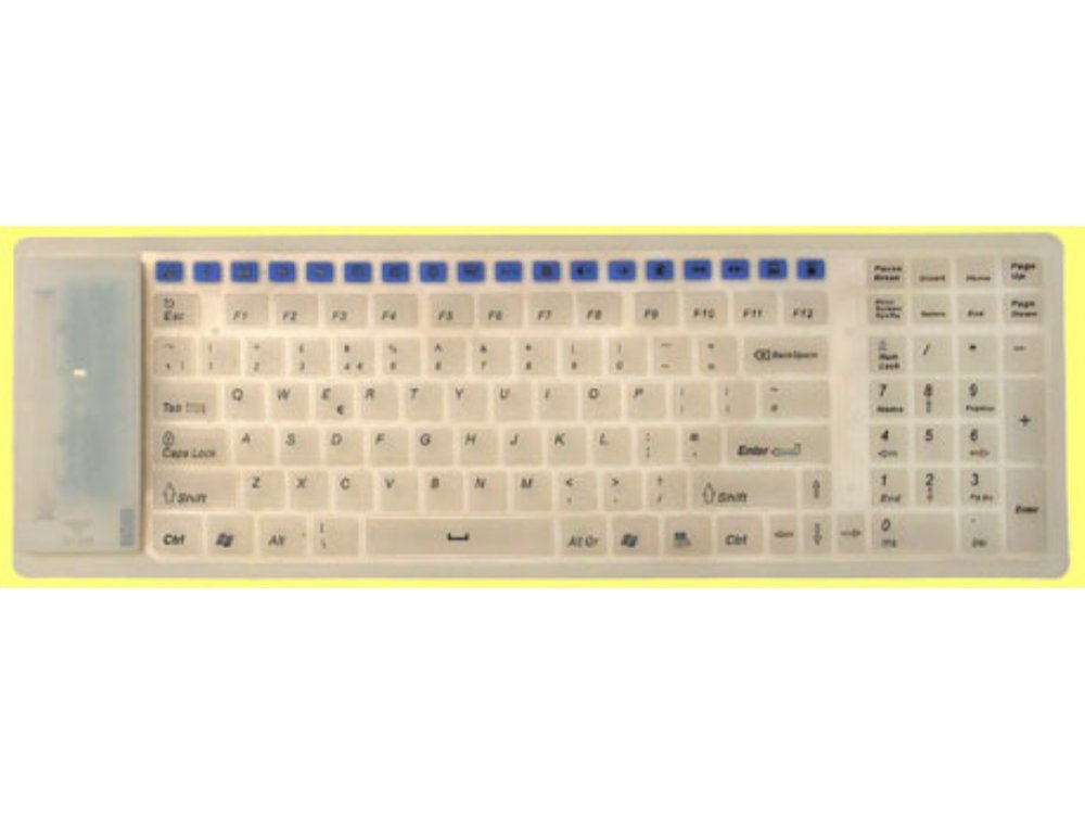 Radio wireless (roll-up) multi-media keyboard, picture 1