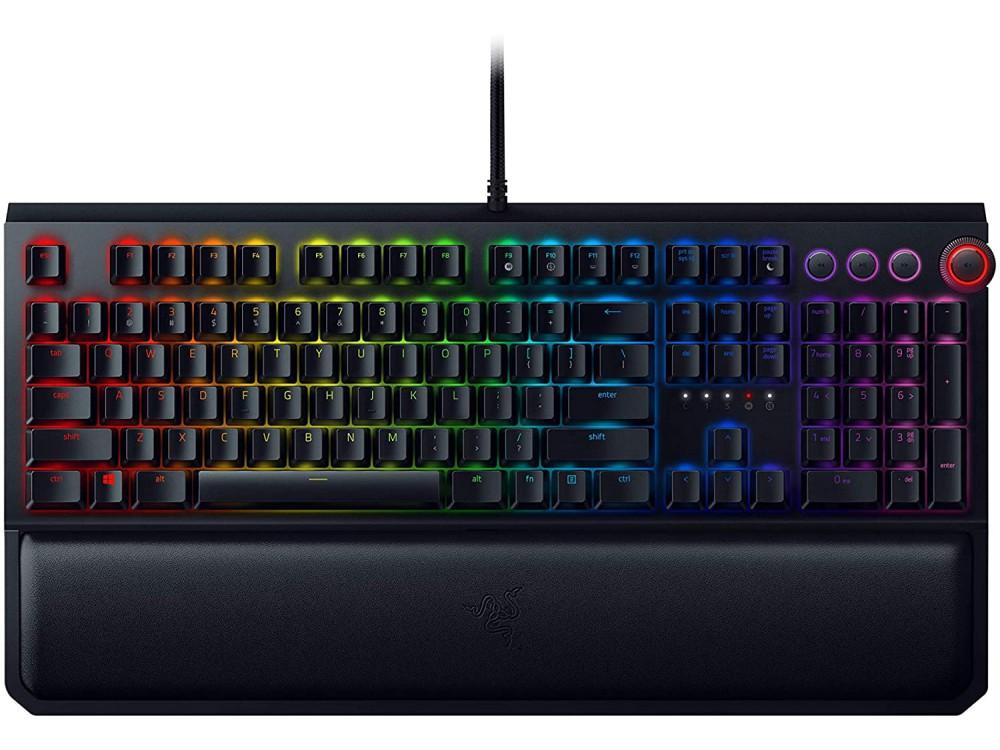 USA RAZER BlackWidow Elite RGB Clicky Gaming Keyboard - Recertified
