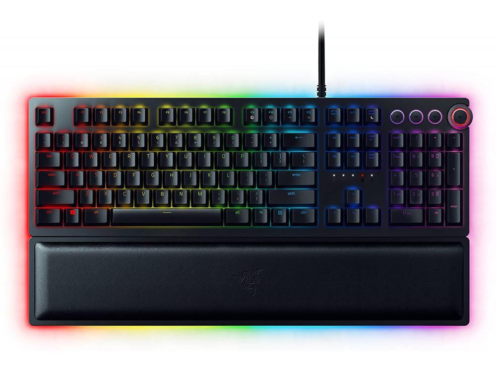 USA RAZER Huntsman Elite RGB Clicky Optical Gaming Keyboard - Recertified