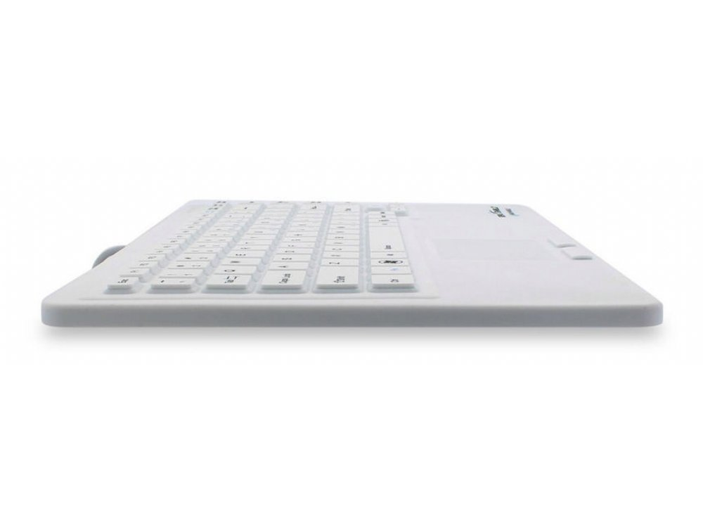 SEAL TOUCH Silicone All-in-One Keyboard with Touch Pad White, picture 2