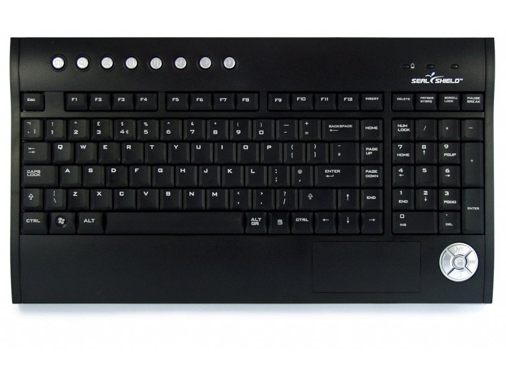 Silver Surf Wireless Multi Media Keyboard, picture 1