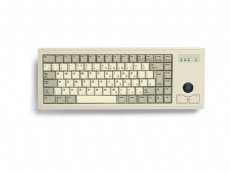 CHERRY Mini keyboard, Beige, PS/2 with built in Trackball