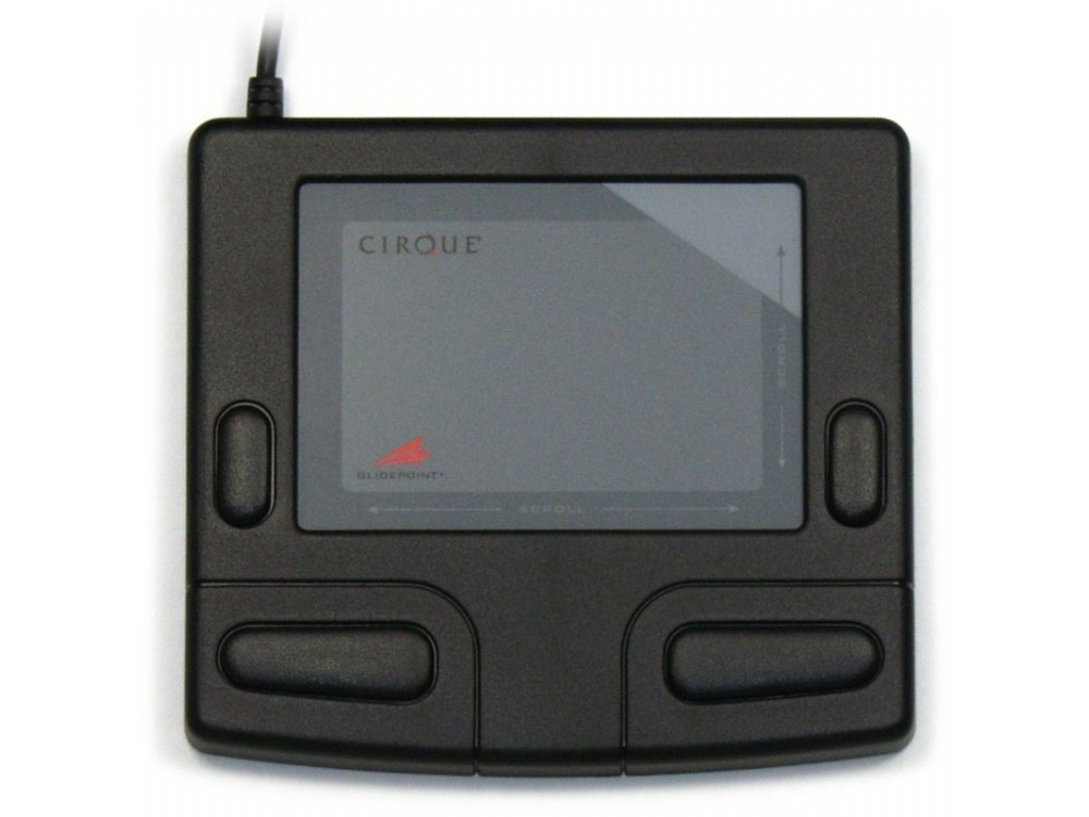Cirque Smart Cat Glidepoint Touchpad, Black, USB