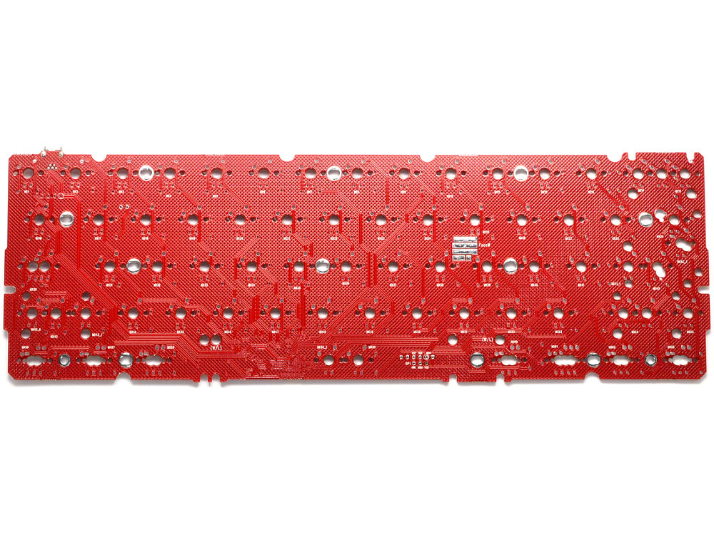 SPRiT Edition 60% PCB FaceW Red
