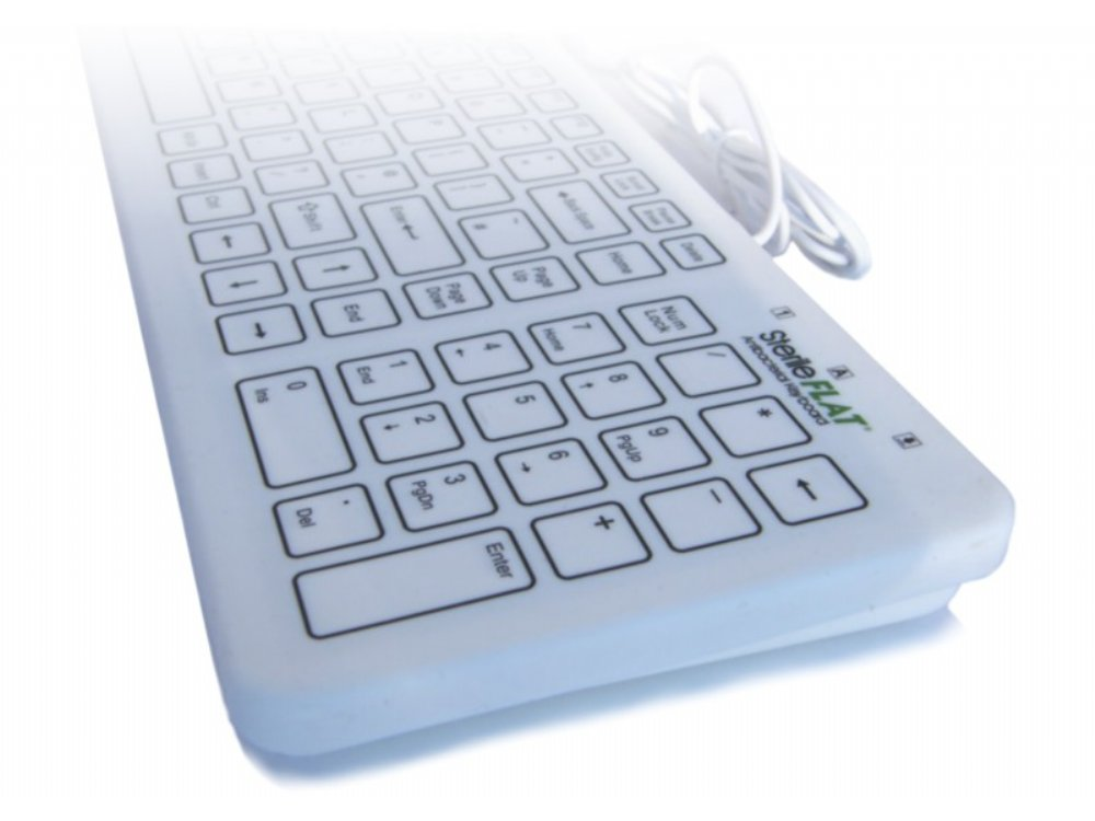 Antibacterial SterileFlat Medical Keyboard