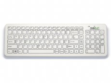 Antibacterial SterileFlat Wireless Medical Keyboard